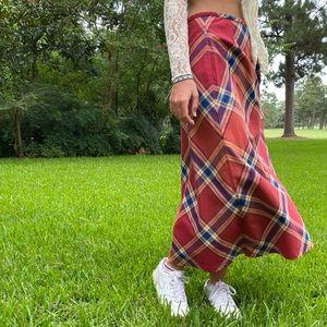 vintage liz claiborne picnic skirt